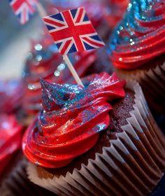 British cupcakes!!!
