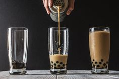 Pumpkin Spice Bubble Tea with Boba | HonestlyYUM