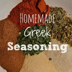 This Homemade Greek Seasoning recipe is one of my favorite seasonings to use on any meat and vegetables to give them incredible flavor. Making your own seasoning mixes with the spices that you probably already Easy Homemade Recipes, Homemade Spices, Homemade Seasonings, Do It Yourself Food, Spices And Herbs, Seasoning Mixes, Seasoning Recipe, Gyro Seasoning, Mets