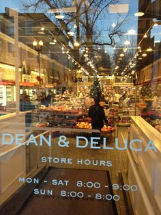 This is why you do not want a hotelroom, but a self catering when in the Big Apple @ Dean & Deluca, NYC, NY, USA