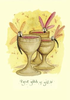 IF30 Great Goblets of Gold - A Two Bad Mice card by Fran Evans