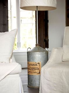 Add Style With Salvage Finds  Love this!!!