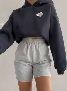 Cute Lazy Outfits, Chill Outfits, Sporty Outfits, Mode Outfits, Stylish Outfits, Teen Fashion Outfits, Look Fashion, Mode Ootd, Teenager Outfits
