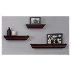 0ce01bfd920ab 8 in. D x 24 in. L x 1-3 4 in. H Espresso Floating Shelf-HDCAE24E - The Home  Depot  FloatingShelvesIdeasTubs