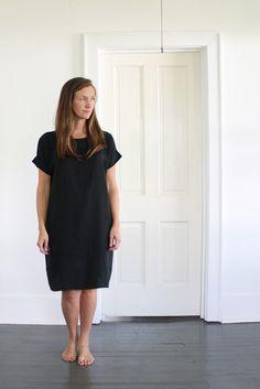 Lou Box Top as Dress
