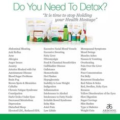Contact me if you would like more information on our 28 day detox program at rrokos@hotmail.com