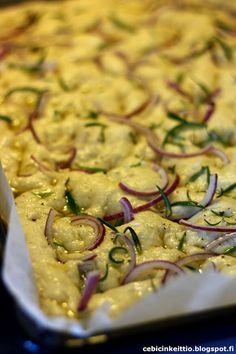 Cebicin keittiössä Tzatziki, Hummus, Risotto, Zucchini, Pizza, Meat, Chicken, Vegetables, Ethnic Recipes
