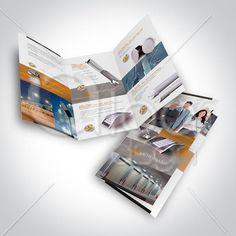 Folder desenvolvido pela LOA DSGN para Lightbrax