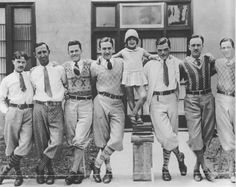 1920-1929 I love the casual clothing in these images. I like the cardigan, different tie lengths, sweaters, and crazy patterned socks. It gives me ideas for Romeo, Benvolio, and Mercutio.