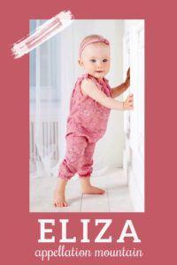 Classic + vivacious Eliza might be the next big thing ... again! #girlnames #namingbaby #babynames #appellationmountain