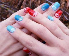 Multi color nails. #nails #nailpolish #nail_ru #nailru #multicolor