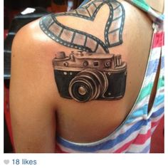 Props to Chelsea getting this tattoo! Looks great! #tatsontatsontats #photography
