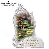 Thomas Kinkade Garden Of Hope Sculpture