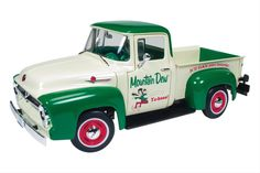 1:18 Scale 1956 Ford F-100 Die-Cast Model - Free Shipping on Orders Over $99 at Genuine Hotrod Hardware