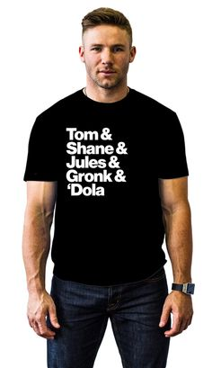 """Things I need in my life: This """"passing game"""" tee, and Julian Edelman. #pats #supercute"""