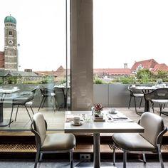 Dachgarten des Hotels Bayerischer Hof München