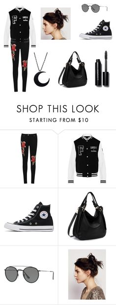 """Sem título #8"" by fusion9 on Polyvore featuring WearAll, Converse, Ray-Ban, Free People e Bobbi Brown Cosmetics"