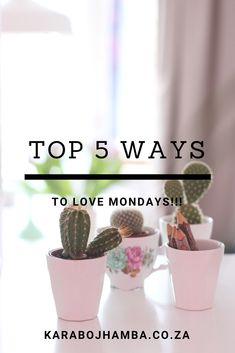 5 Ways to Fall In Love with Monday Love Mondays, Good Monday, Black Girls Power, Girl Power, Becoming A Better You, Love You More, How To Better Yourself, Girl Boss, 5 Ways