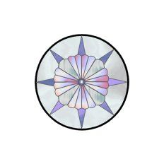 Mini Printable Stained glass, Round Sun Catchers