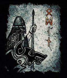 Viking Odin T-shirt - front