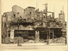 Ehem.Kafe Kranzler Firedrichstrasse/Unter den Linden 1945