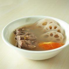 Pork Recipes : Lotus Root and Peanut Pork Ribs Soup Recipe