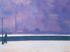 Félix Valloton - Nuit au léger brouillard
