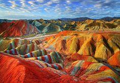 Rainbow Mountains, Perú. UNA BELLEZA DE LUGAR, LOS DETALLES HERMOSOS DEL MUNDO.