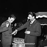 Carlo Cassola e Giovanni Arpino nel 1961 al Premio Strega - by Carlo Riccardi - http:www.archivioriccardi.it