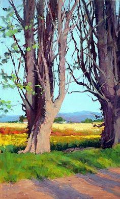 Spring by Susan Ogilvie Pastel ~ 28 x 17