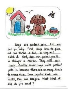 Second Grade Opinion Writing Mentor Texts: What is the Best Pet?
