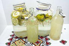 Socata cu sau fara drojdie reteta traditionala cu lamaie Cocktails, Drinks, Preserves, Gin, Pickles, The Creator, Food And Drink, Homemade, Smoothie