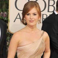 Isla Fisher - Hair Trends - 2009 Golden Globes - Celebrity - InStyle