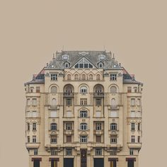 Zsolt Hlinka's Urban Symmetry Photographs Reimagine Danube River Architecture,© Zsolt Hlinka