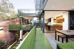 La maison dans un entrepôt à Melbourne en Australie - Moderne House