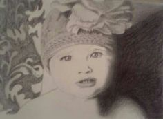 My first portrait of a child