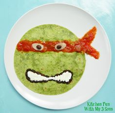 My boys love the TMNT crew & we always love creating them out of food. We made these fun Teenage Mutant Ninja Turtle Quesadilla's last night for dinner & they loved them! Super easy to make and a great way to sneak them some veggies!:) Teenage Mutant Ninja Turtle Quesadilla Dinner 2 Spinach Tortillas Shredded...Read More »