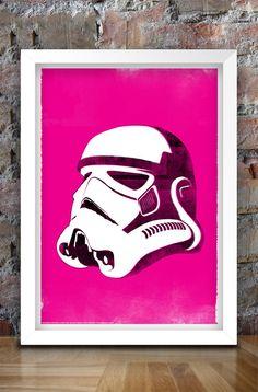 Star Wars inspirierte Print SchurkenSerie von thedesignersnursery, $30.00