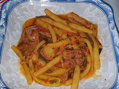 Lulu - Povesti din Bucatarie: Mancare de pastai si carne de curcan Bacon, Meat, Chicken, Breakfast, Food, Morning Coffee, Essen, Meals, Yemek
