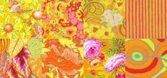 The Kaffe Fassett Collective (Brandon Mably, Phillip Jacobs, and Kaffe Fassett