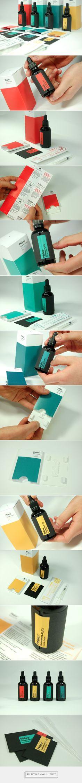 Phéro+ perfume packaging