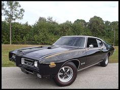 ******SATURDAY******____Lot K201 1969 Pontiac GTO Judge Replica 400/350 HP, 4-Speed - $12,419 -	$41,400 -	$72,360
