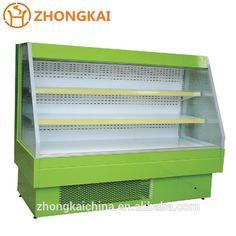 Supermarket Refrigeration Equipment Drink Display Used Open Cooler Refrigerator