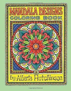 Mandala Designs Coloring Book No. 1 by Alberta L Hutchinson (Paperback) in | eBay