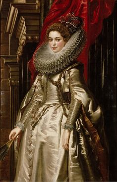Peter Paul Rubens, Portrait of Marchesa Brigida Spinola Doria, 1606. Oil on canvas. Antwerp. More about the artwork: National Gallery of Art, Washington. Source
