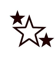 Diseño De Estrellas Astronomía Planyis Pinterest Star Tattoos