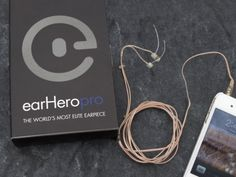"Running Headphones from earHero. The earHero earphones are the ""worlds safest"" earphone. Listen to your favorite music from any player and still safely hear the environment around you. Small and discreet, they can be comfortably worn for hours on end."