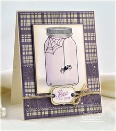 BOO to you card by Debbie Olson | PTI Friendship Jar and Friendship Jar Fall Fillers stamps/dies