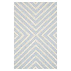 Teppich Prita - Wolle - Hellblau / Weiß - 91 x 152 cm, Safavieh Jetzt bestellen unter: https://moebel.ladendirekt.de/heimtextilien/teppiche/sonstige-teppiche/?uid=3e7619da-2cc6-57db-95ac-2b16dae5a271&utm_source=pinterest&utm_medium=pin&utm_campaign=boards #accessoires #kurzflorteppiche #heimtextilien #sonstigeteppiche #teppiche #safavieh