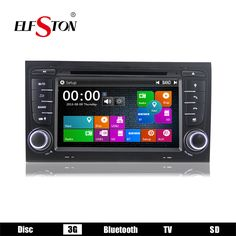 2din 7inch car multimedia player For Audi A4 2002-2007 with auto radio stereo CD DVD music video MP3 player 3G bluetooth map USB
